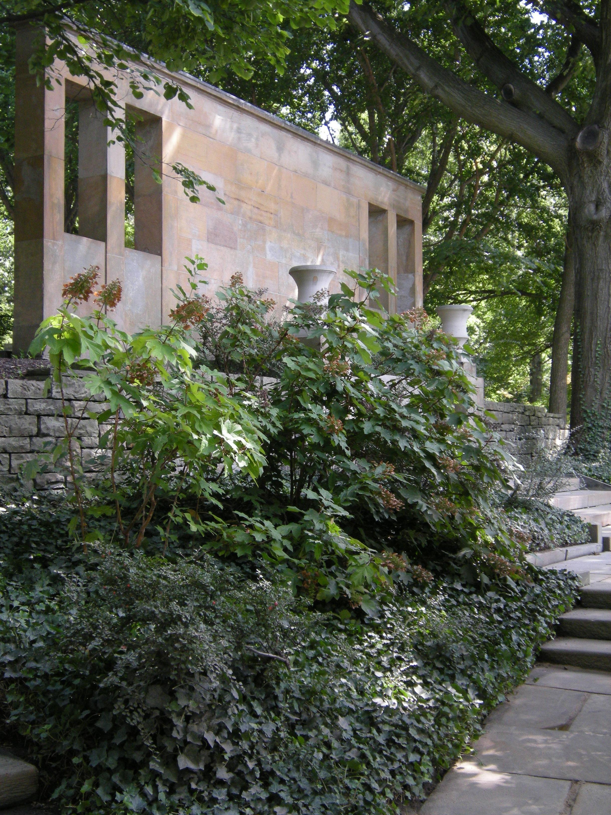 Greek Garden The Cleveland Cultural Gardens Federation